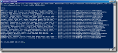 The Twitter Public Timeline in Powershell