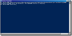 SQL DBA Duties with Powershell