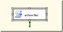Script task for archiving files in BIDS